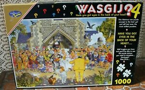 1000 pc jigsaw Wasgij #4 - A Day to Remember by Graham Thompson. Complete. GUC.