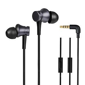 XIAOMI Piston Basic mit Mic In-Ear Kopfhörer Headset 3.5mm Earphone Schwarz Bass