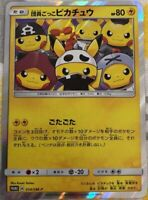 Pokemon card Sun & Moon Member pretend Pikachu 014/SM-P Japanese Promo
