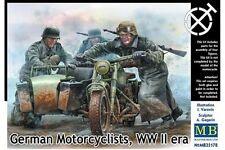 MasterBox MB35178 1/35 German motorcyclists WW II era