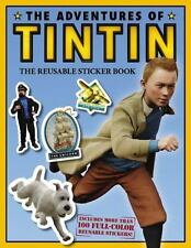 The Adventures of Tintin: The Reusable Sticker Book by Veronica Paz