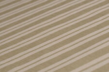 Bio-Baumwolle, Gestreift-Muster, Beige-hell Oliv  - 8 Euro/m