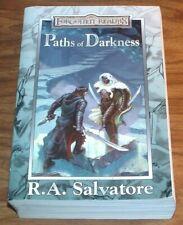 R.A.SALVATORE Paths Of Darkness COLLECTOR'S OMNIBUS PB Silent Blade+Sea/Swords++