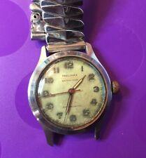 Vintage Precimax Military Style  Watch w/ a Clean 17J Helios Mvnt-Runs!