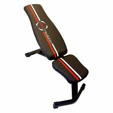 Adjustable Weights Bench Exercise Weight Fitness Flat Incline Workout Multi Gym