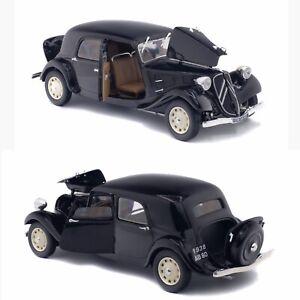 1/18 Solido Citroen Traction 11CV Noir 1937 Neuf Boite Livraison Domicile