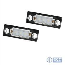 LED Kennzeichenbeleuchtung VW T5 Passat 3C B6 Caddy Touran Golf Plus Skoda
