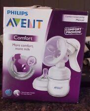 Philips Avent Manual Comfort Breast Pump, USED