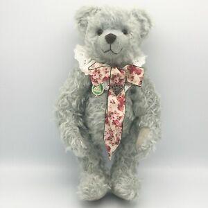 """Hermann 16"""" Peppermint Bear Mohair Teddy Bear Growler Limited Edition 206/500"""