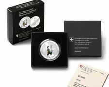 Schweiz 20 Franken Circus Knie 2019 PP   Aufl. 5000 St. RAR Silber Swiss Proof