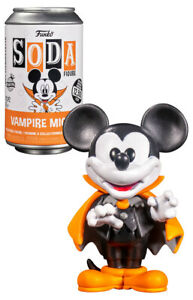 Funko Soda Figure - Mickey Mouse #58693 Vampire Mickey (12,500 pcs) - New, Seale