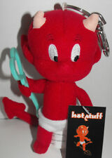 Hot Stuff Plush Keychain with Teal Key Stuffed Animal Toy Key Chain