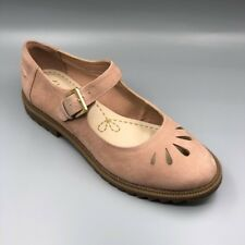 """NEW Clarks """"Griffin Marni"""" Ladies Dusty Pink Leather Mary Jane Shoes UK 5.5 E"""