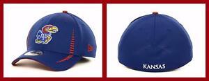 New Era ~ 39THIRTY Kansas Jayhawks Training Camp Cap $28 NWT