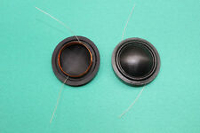 2 pcs 25.4mm 25.5mm silk diaphragm dome Tweeters voice coil 8 ohm 1 inch
