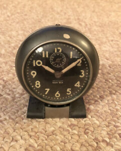 Vintage Westclox Baby Ben Alarm Clock 61-R Antique Wind Up - Works Great USA