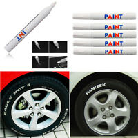 12x Auto Car Truck Tyre Tire Tread Waterproof Permanent Paint Marker Pen White