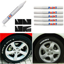 12x Auto Car Truck Tyre Tire Tread Waterproof Permanent Paint Marker Pen White