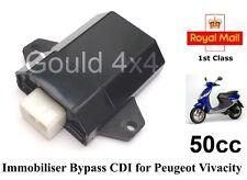 Puce immobiliser clé contourner cdi aci100 fits. PEUGEOT Vivacity 50cc aci100.01
