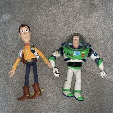 disney toy story 12 inch talking buzz And Woody Battery Powered