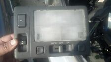 1992 Lexus LS400 center dome light and sunroof switch