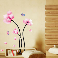 New Fasion Flower DIY Wall Art Decal Decor Room Sticker Vinyl Removable Paper
