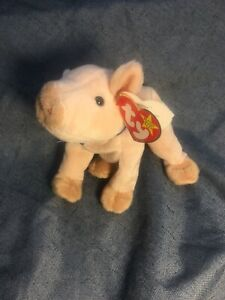 """∞""""KNUCKLES""""  1999 Ty Beanie Baby w/ALL Tags  /  *** RARE MATERIAL TAG ***"""