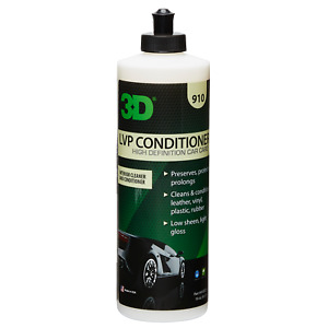 3D Products USA LVP Liquid Leather Interior Conditioner Vinyl Plastic Trim 470ML