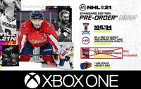 NHL 21 (Xbox One) Pre-Order DLC - NHL 94 Rewind, XP Boost, Bag- NO PACKS