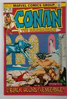 Conan the Barbarian #20 (Nov 1972, Marvel) Very Good+  Barry Windsor Smith art!