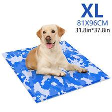 Gel Cooling Mat Cooler f/ Dog Cat Pet Self cooling Cushion Pad Hot Summer Bed Xl