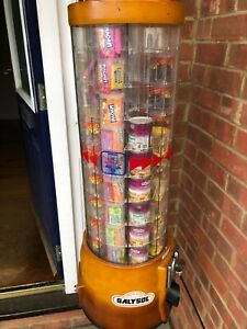 Clenport/Tubz/Hurleys Snack Tower Vendor, filled with 81 sweets, £1 Vend