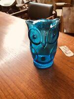 Holmegaard - Mid Century Danish glass - mid century Danish studio art glass Owl