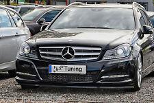 Spoilerschwert Frontspoilerlippe Cuplippe ABS Mercedes Benz C-Klasse W204 ABE