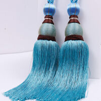 Large Tie Backs Beaded Ball Tassel Curtain Rope Tieback HoldBacks Home Decor S