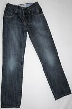 Fat Face size 12Y Blue Denim Jeans Youth Size 100% Cotton Fashionably Distressed