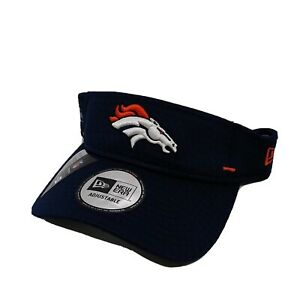New Era 100%authentic Visor Adjustable Denver Broncos navy blue logo NFL