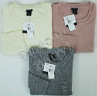 New Calvin Klein Jeans Women's Crew neck High Low Hem Pullover Sweater Variety