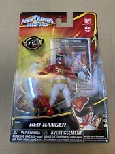 "NEW Power Rangers Megaforce Red Ranger  4"" Action Figure Goseiger #35101 Bandai"