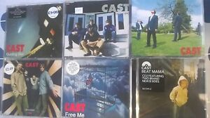 Cast Single collection 6xCD 22 tracks guiding star sandstorm flying free me