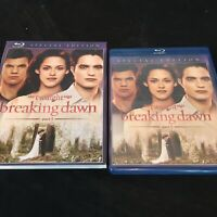 The Twilight Saga: Breaking Dawn - Part 1 (Blu-ray Disc, 2012) with Slipcover