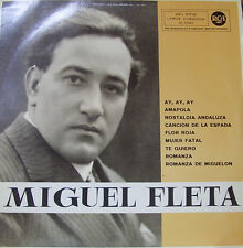 MIGUEL FLETA-MISMO TITULO 1961 LP VINILO SPAIN EXCELLENT COVER CONDITION-