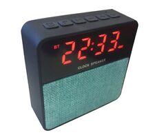 ALTAVOZ MP3 BLUETOOTH - BLAUPUNKT RELOJ  - FM RADIO USB  MICROSD - Envio Rapido