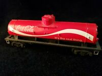 Tyco HO Scale COCA-COLA Tanker Tank Train Car