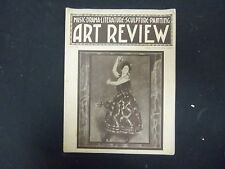 1922 MAY ART REVIEW MAGAZINE- CARMENCHITA PAINTING COVER - ST 3238