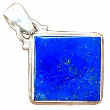 Lapis Lazuli Sterling Silver Fine Necklaces & Pendants