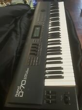 Roland D70 Super LA Synthesizer Keyboard verry nice
