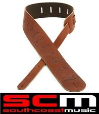 PRS Leather Birds Guitar Strap Brown by Paul Reed Smith Brand New