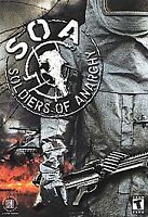 SOLDIERS OF ANARCHY, SOA, PC GAME CD-ROM