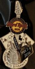 "Hard Rock Cafe LAS VEGAS STRIP 2010 PINsanity #6 Händler ""666"" Gitarre Nadeln"